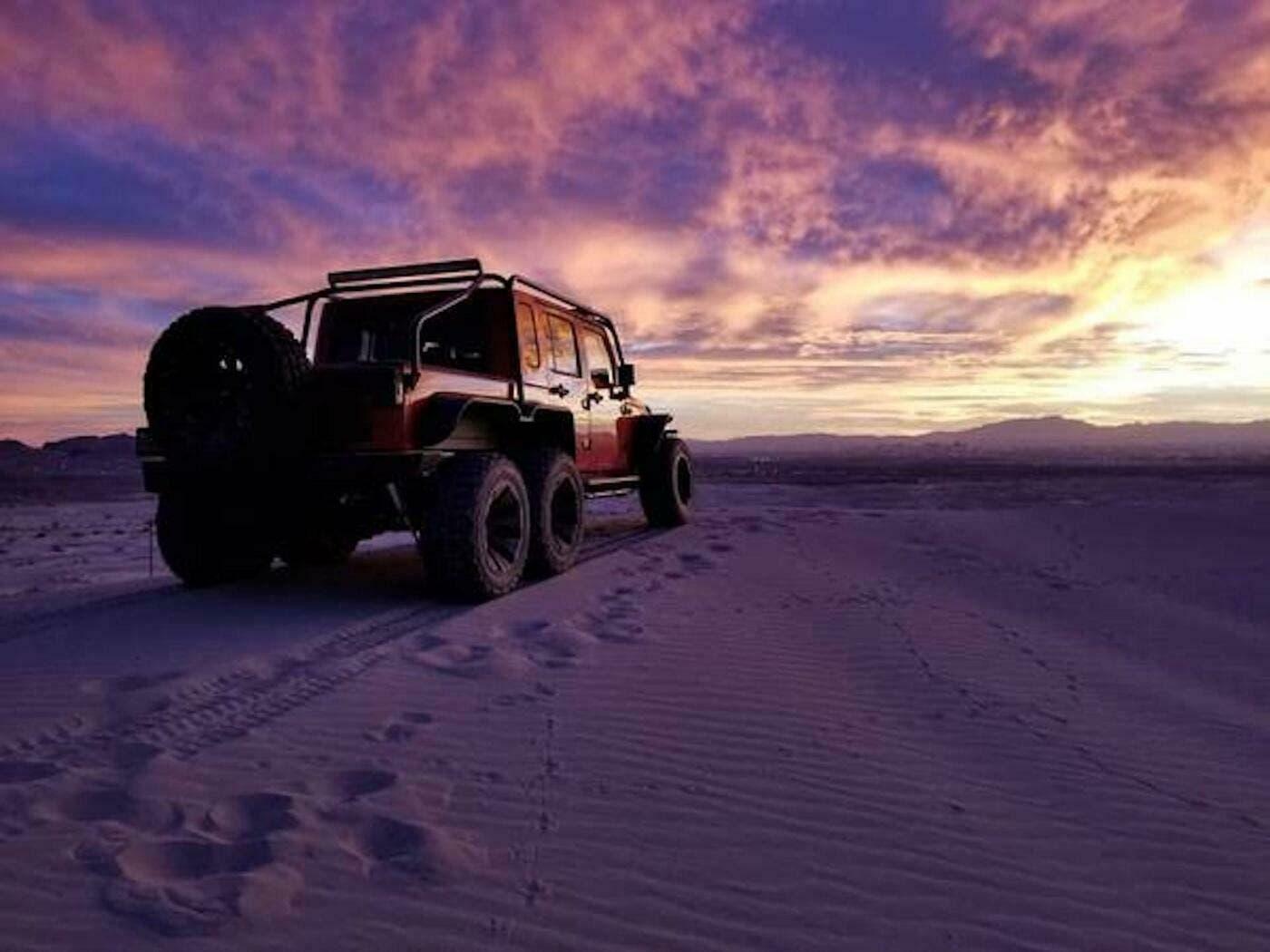 Jeep Wrangler 6x6: una speciale versione con motore ...