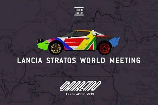 Lancia Stratos World Meeting aprile evento