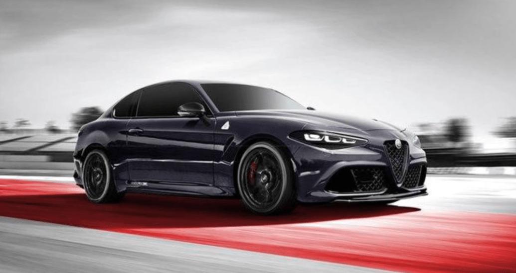 Alfa Romeo GTV 2019 render grigia