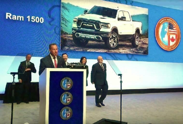Ram 1500 North American Truck of the Year 2019