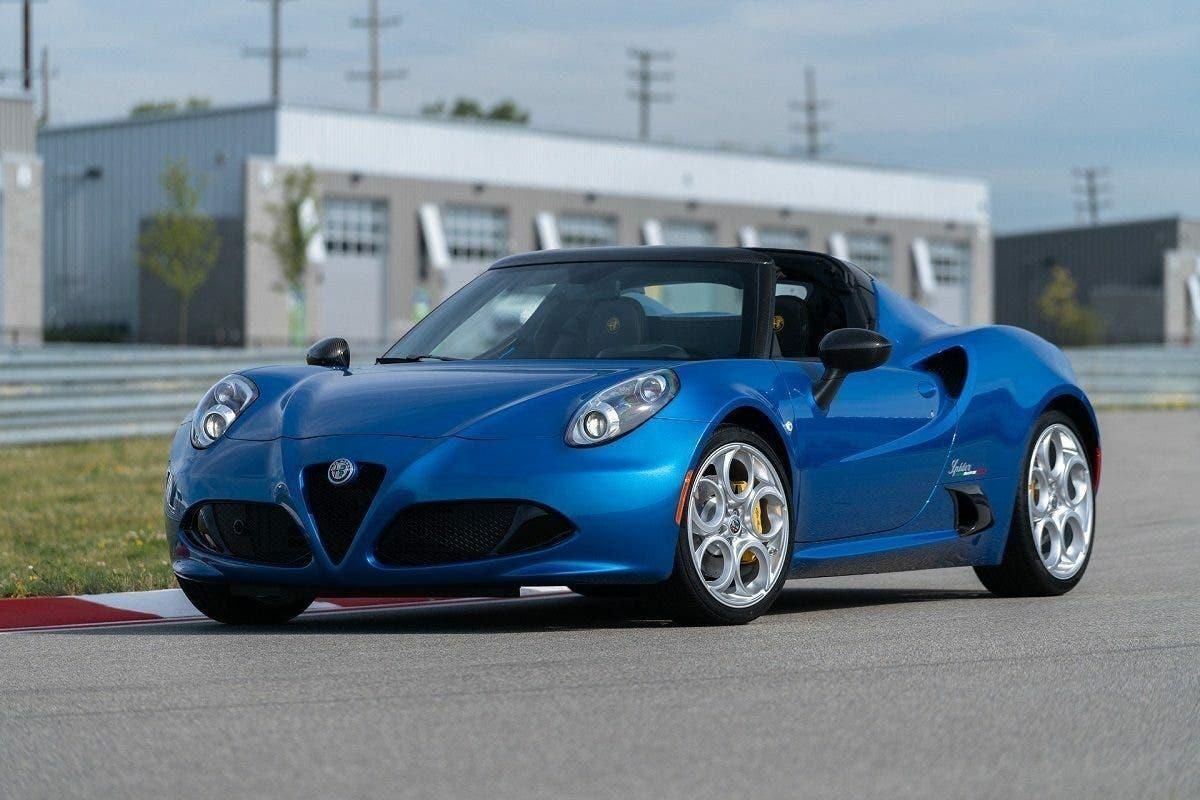 Alfa Romeo 4C Spider Italia edizione speciale