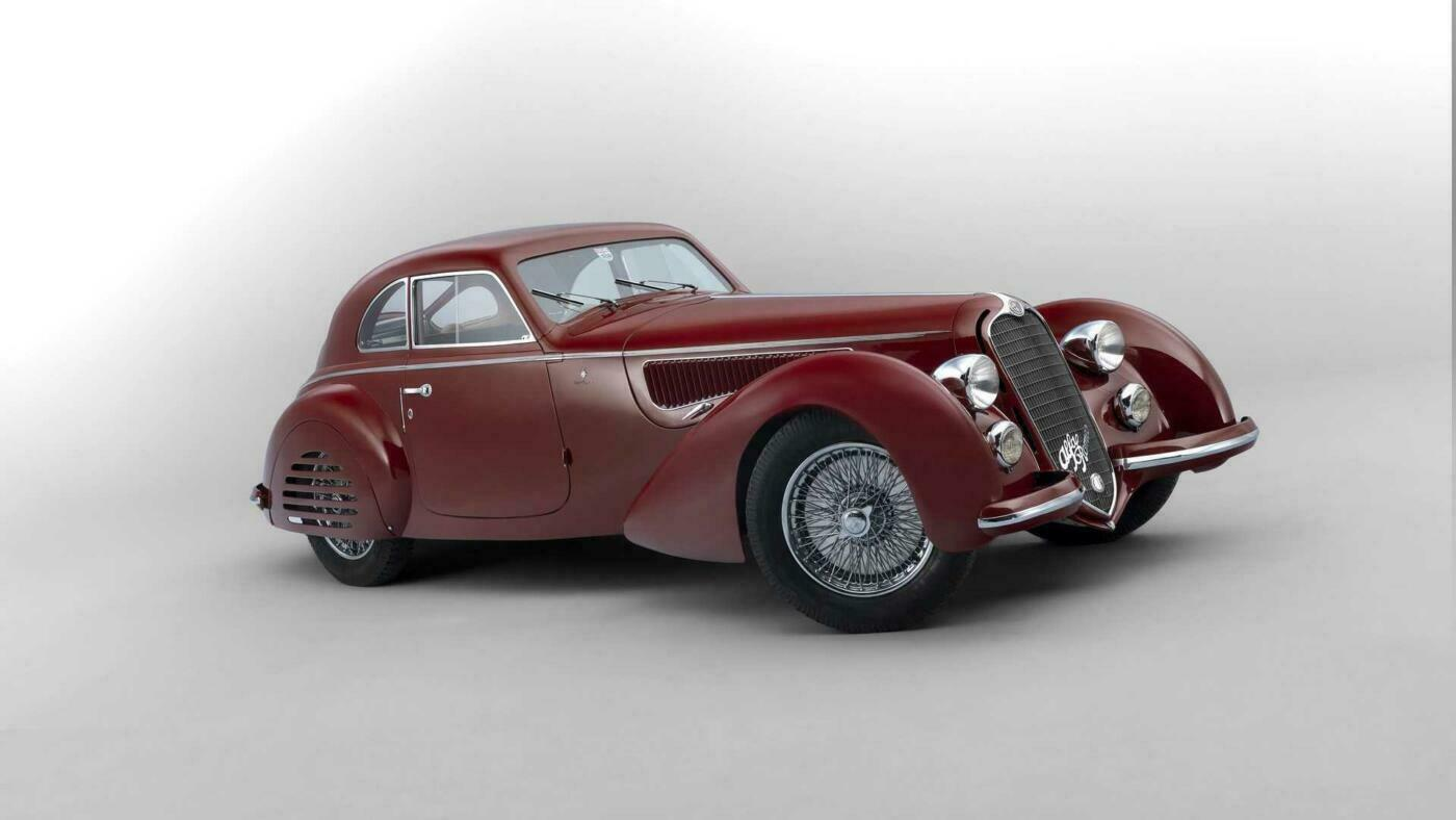 Alfa Romeo 8C 2900 B Touring Berlinetta asta