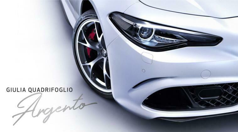 Alfa Romeo Giulia Quadrifoglio Argento