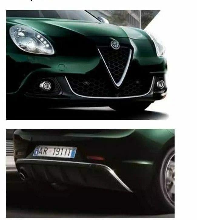 Alfa Romeo Giulietta restyling 2019