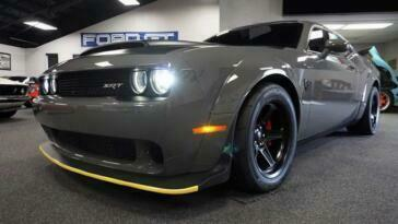 Dodge Challenger SRT Demon asta Leake