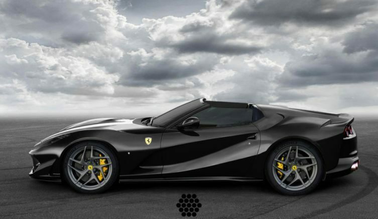 Ferrari 812 Superfast Aperta render