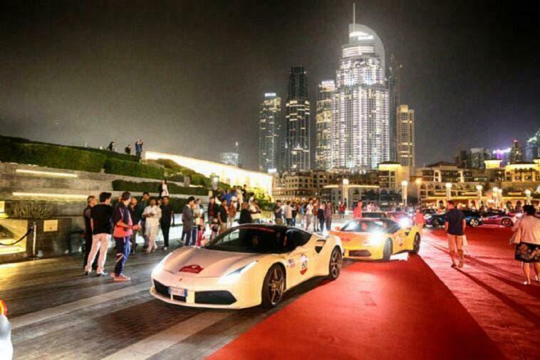 Ferrari Cavalcade International Emirati Arabi Uniti