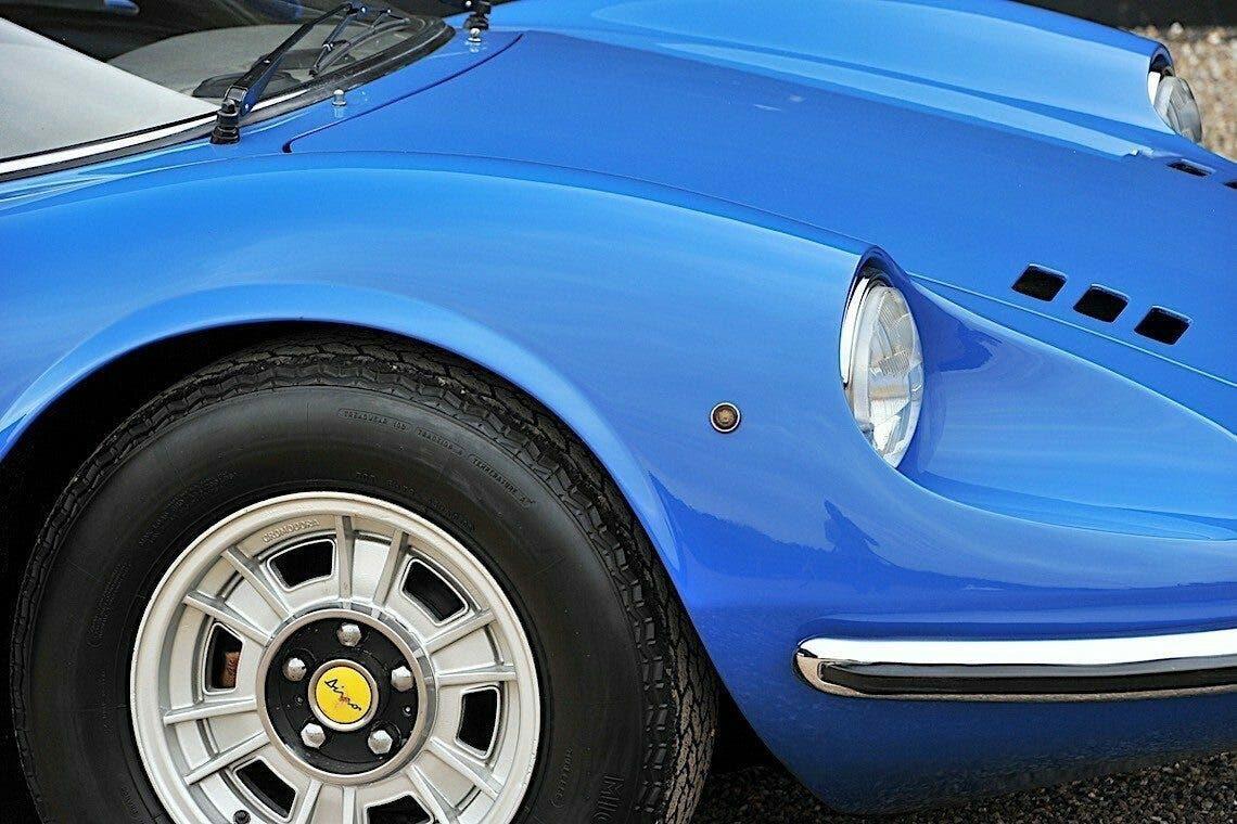 Ferrari Dino 246GT Coupé 1972 Azzurro asta