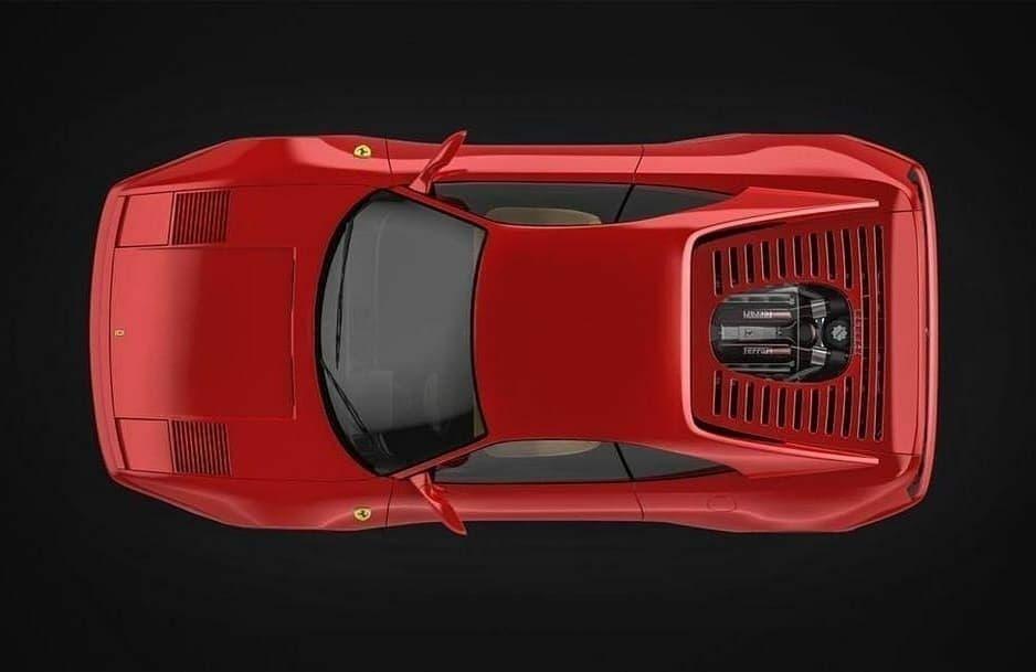 Ferrari F355 carbonio