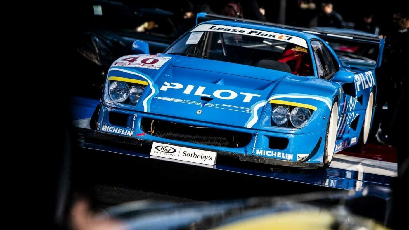 Ferrari F40 LM asta Parigi