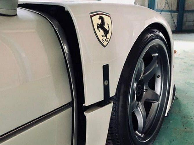 Ferrari F40 LM bianca Giappone