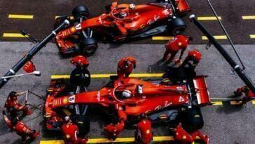 Ferrari motore 064 scarichi 3D
