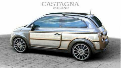 Fiat 500 Giardiniera 2019 By Castagna Design