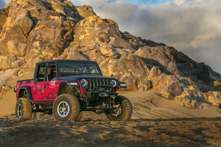 Jeep Gladiator 2020 Messo Alla Prova In Una Gara Off Road