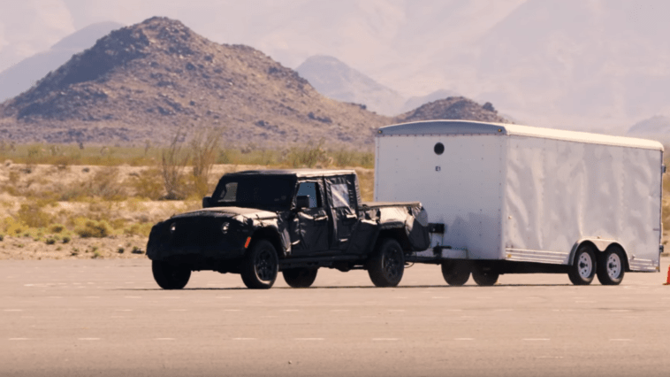 Jeep Gladiator test video
