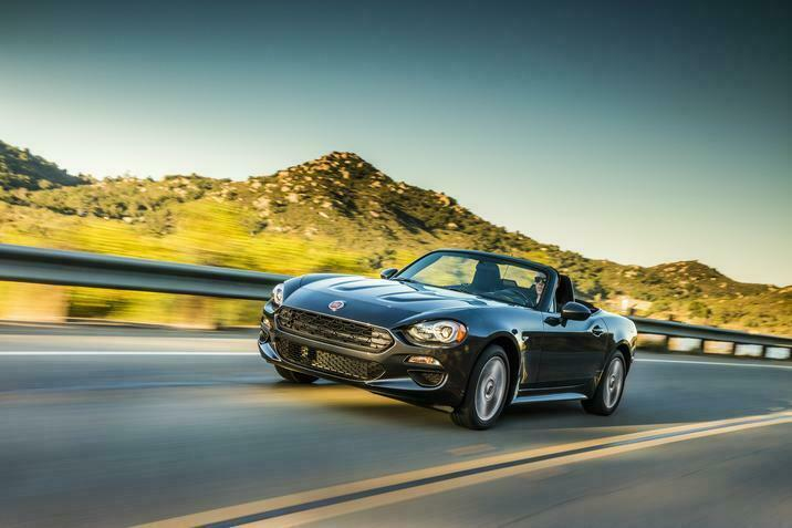 Jeep Wrangler Fiat 124 Spider premio 5-Year Cost to Own Kelley Blue Book