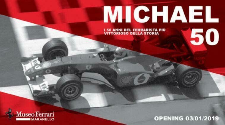 Michael 50 Ferrari proroga mostra