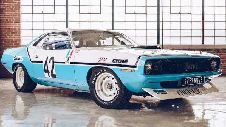 Plymouth Barracuda Chrysler France