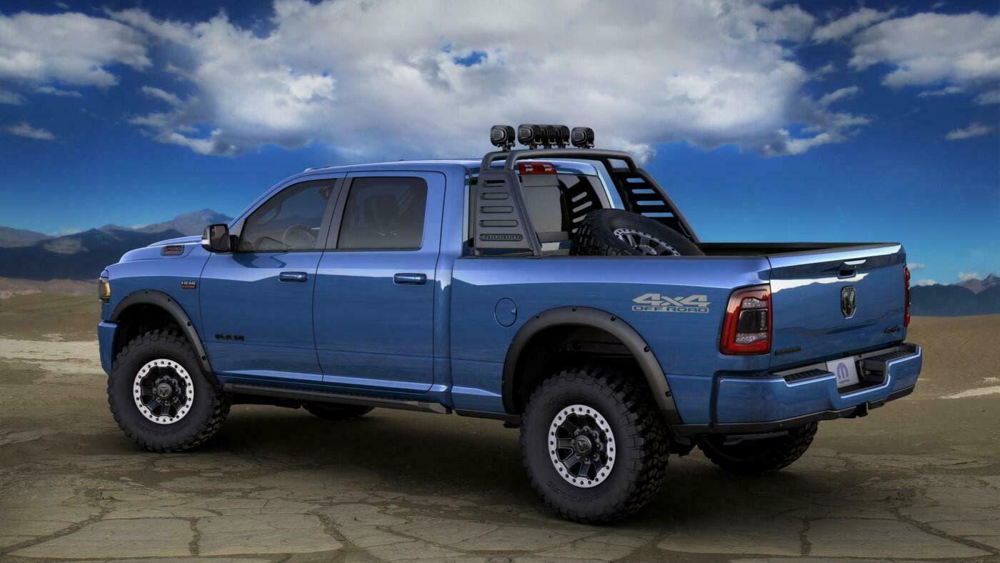 Ram 2500 Heavy Duty 2019: un esemplare super accessoriato ...
