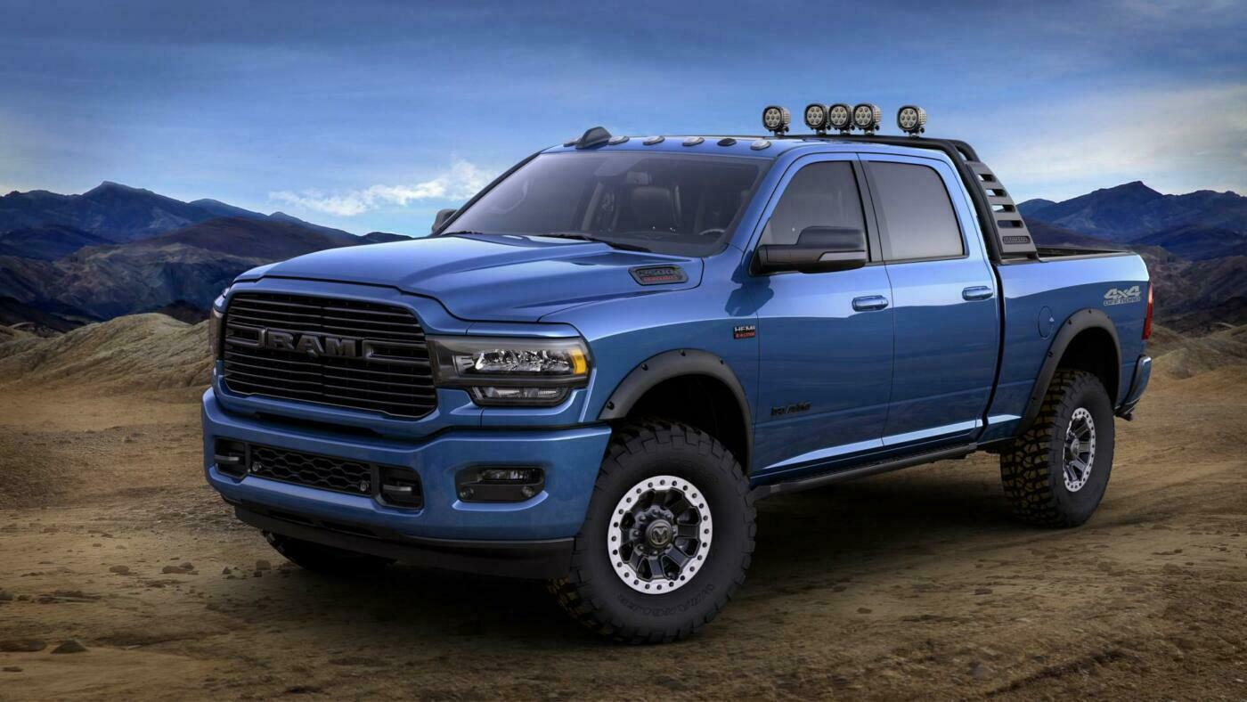 Ram 2500 Heavy Duty 2019: un esemplare super accessoriato ...