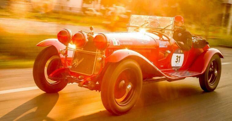 Alfa Romeo Automotive Sponsor 1000 Miglia 2019