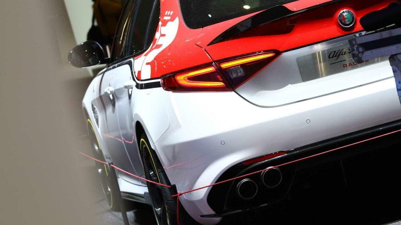 Alfa Romeo Giulia e Stelvio Quadrifoglio Racing Edition foto live Ginevra 2019