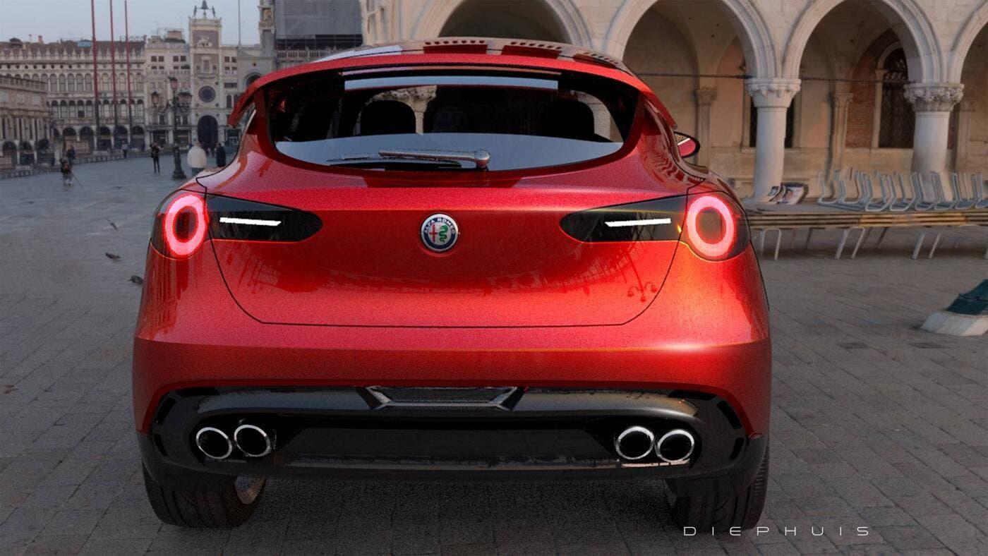 Alfa Romeo Stella nuovo SUV compatto render
