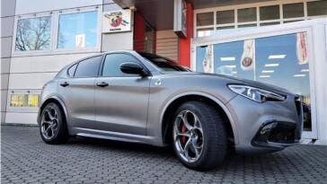 Alfa Romeo Stelvio Nring Romeo Ferraris
