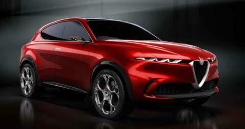 Alfa Romeo Tonale RED Suv Geneva 2019 Photo