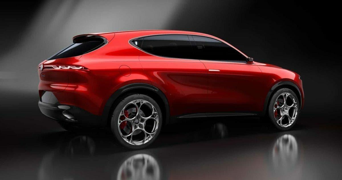 Alfa Romeo Tonale Suv Rosso Anteprima Presentazione Render