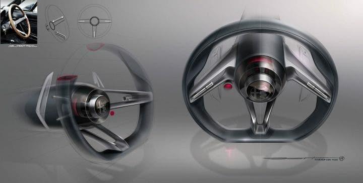 Il Volante di Alfa Romeo Tonale Desing