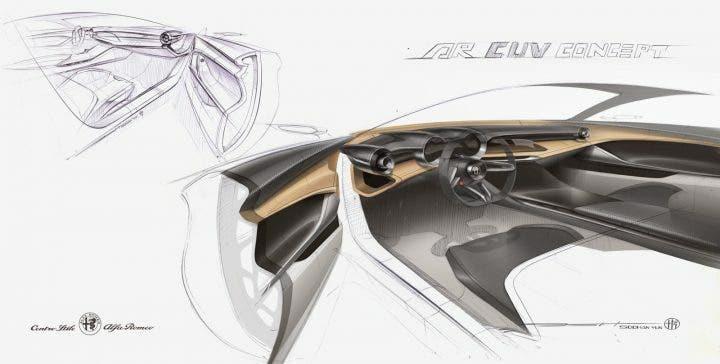 Disegni Alfa Romeo Tonale