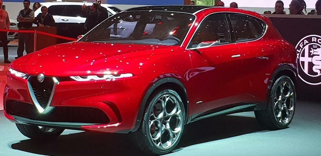 Alfa Romeo Tonale Suv Rosso Anteprima Presentazione