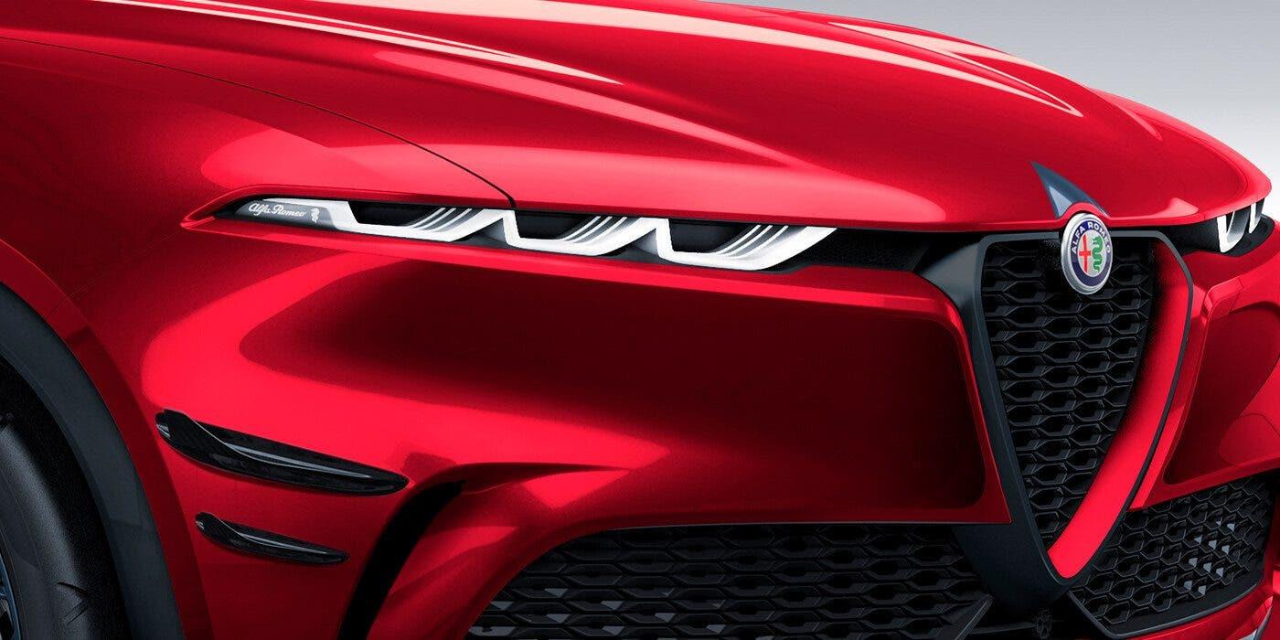 Alfa Romeo Tonale Quadrifoglio render