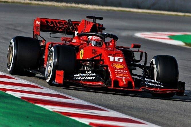 Charles Leclerc Ferrari monoposto