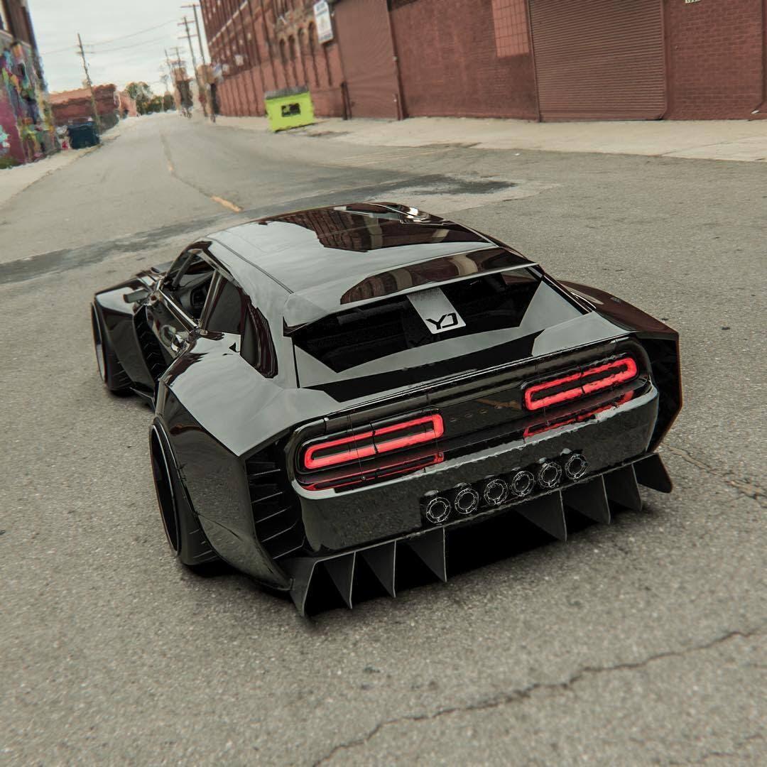 Dodge Challenger SRT Hellcat Redeye Shooting Brake render