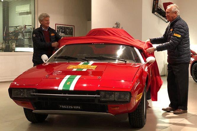 Ferrari 308 GT4 Pechino-Parigi