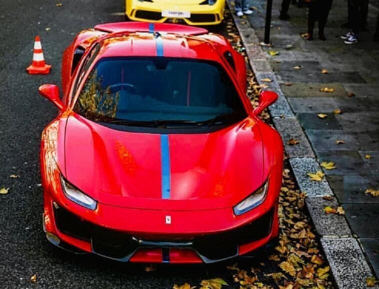 Ferrari 488 Pista E. Milano render