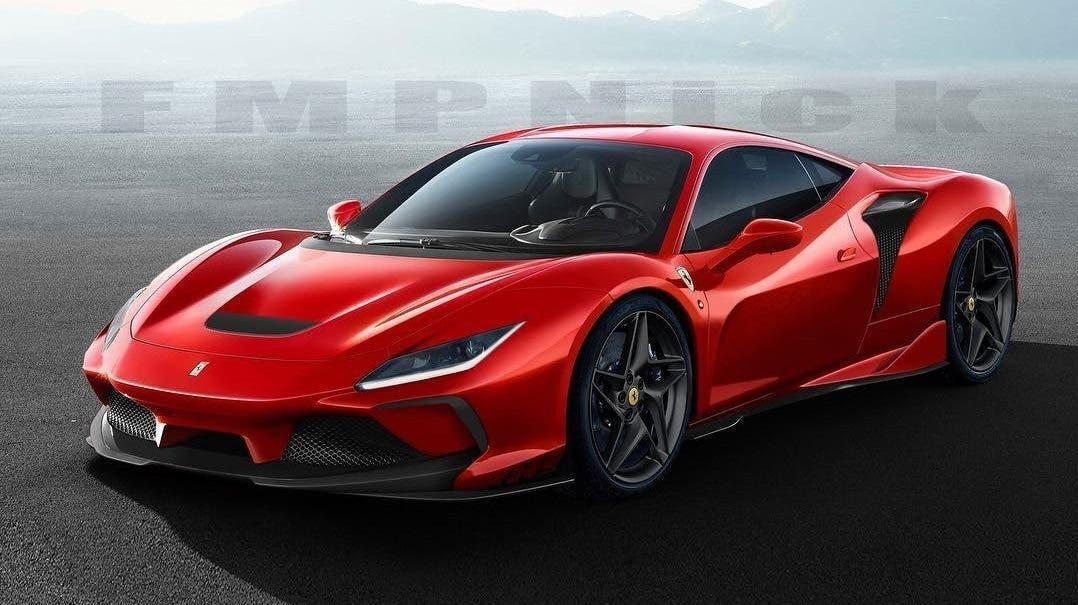Ferrari F8 Tributo Evo render