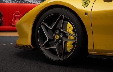 Ferrari F8 Tributo Giallo Triplo Strato
