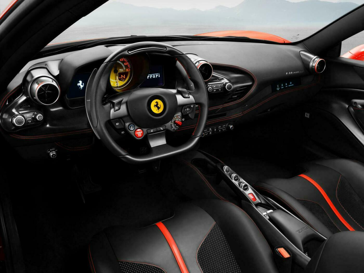 Ferrari F8 Tributo Spider render