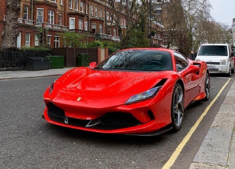 Ferrari F8 Tributo dal vivo