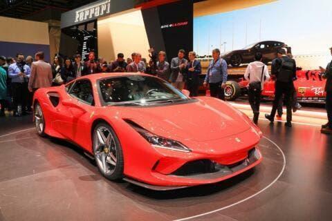 Ferrari F8 Tributo non costruita con nuova piattaforma