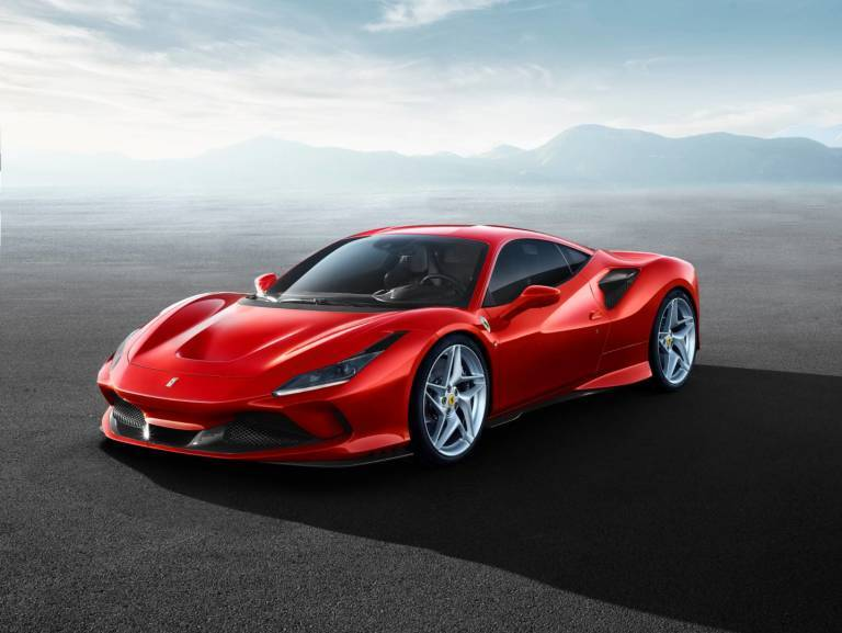 Ferrari F8 Tributo render