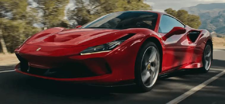 Ferrari F8 Tributo video