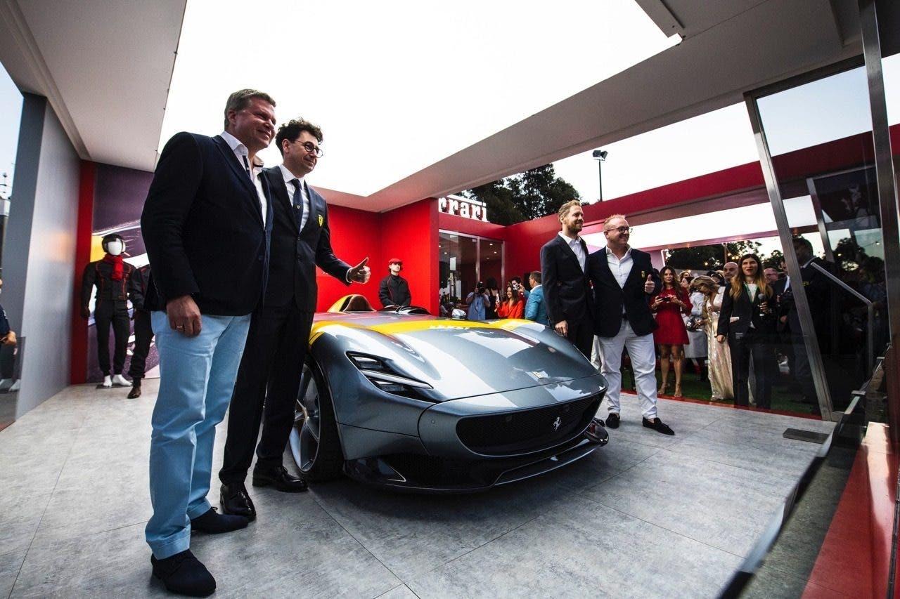 Ferrari Monza SP1 debutto Australia