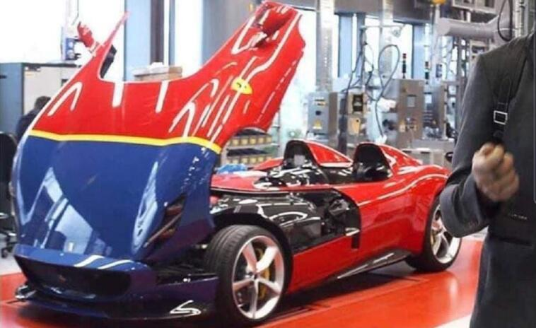 Ferrari Monza SP2 290 MM Fangio
