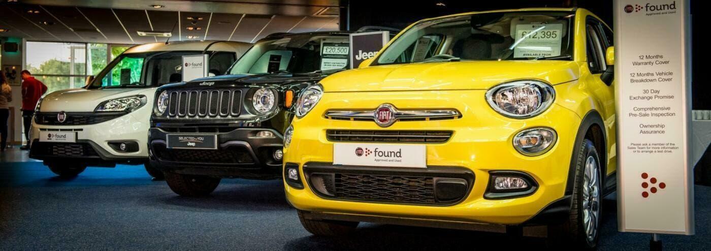 Fiat, Alfa Romeo e Jeep