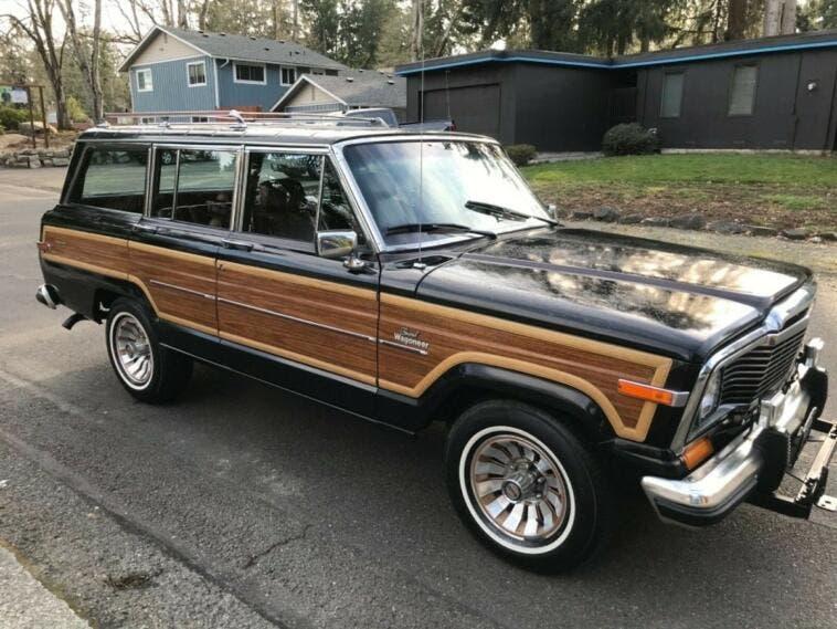 Jeep Grand Wagoneer 1985 eBay
