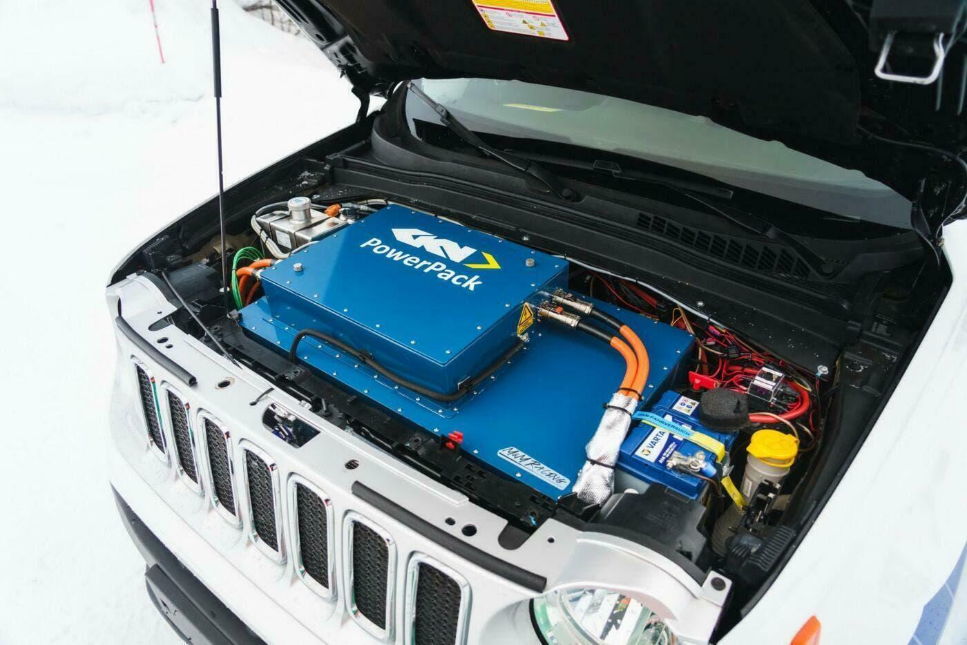 Jeep Renegade EV GKN